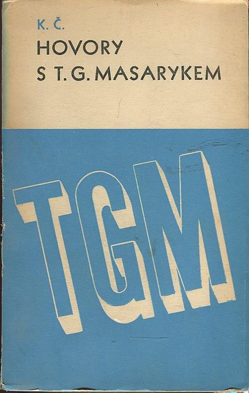 Výsledek obrázku pro čapek hovory s t.G. M
