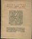 Nova et Vetera, sv. 35, březen 1920