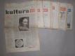 Kultura - týdeník pro kulturu a umění, 1957