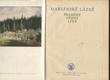 Mariánské Lázně - Prameny, dějiny, lidé 1808-1958
