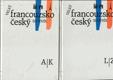 Velký francouzsko-český slovník  I-II