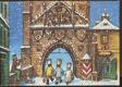 Vánoční přání, betlém pop-up dioramatická rozkládačka Vojtěch Kubašta