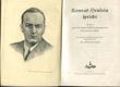 Konrad Henlein spricht - Reden zur politischen Volksbewegung der Sudetedeutschen, Im Auftrage der Sudetedeutsches Partei herausgeben von Rudolf Jahn