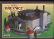 Vystřihovánky - Zámek Březnice, papírová stavebnice modelu