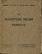 Paul-Guillaume: La Sculpture Négre Primitive, 1929
