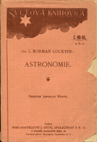 Lockyer, Joseph Norman: Astronomie, 1914