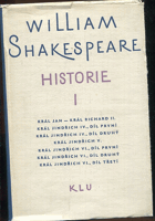 Shakespeare, William: Historie I - Hry - Král Jan, Král Richard II., 1964