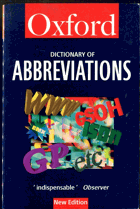 The Oxford dictionary of abbreviations, 1998