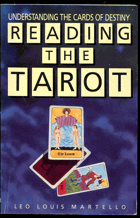 Martello, Leo, Louis: Reading the tarot, 1990