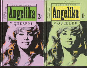 Golon, Anne: Angelika v Quebeku I+II, 1995